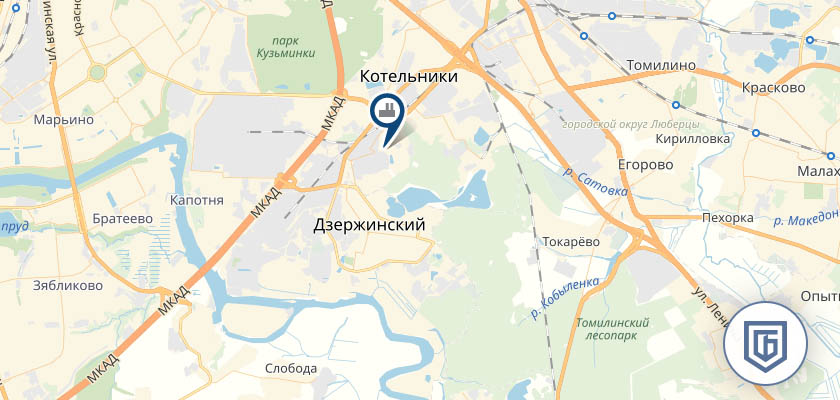 Бетонный завод в Дзержинском