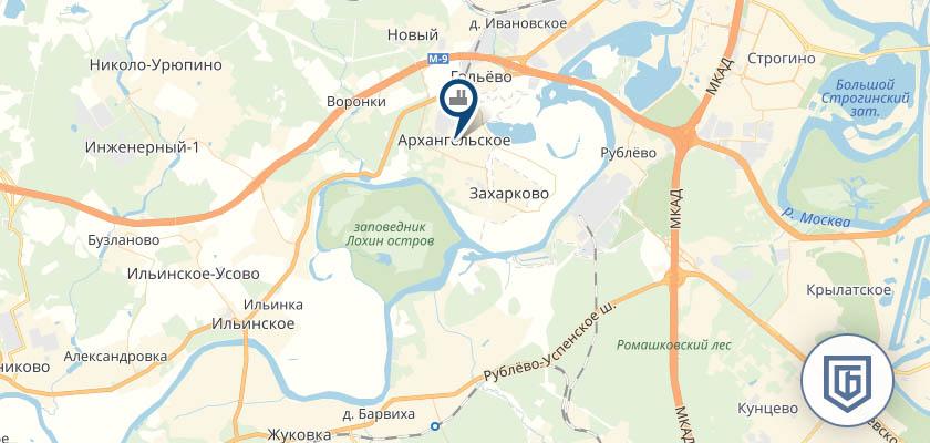Бетонный завод в Ильниском