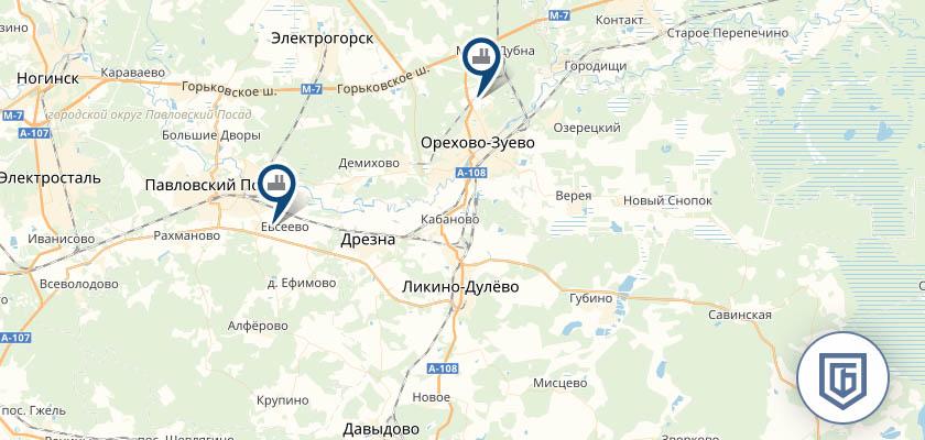 Бетонный завод в Ликино-Дулево
