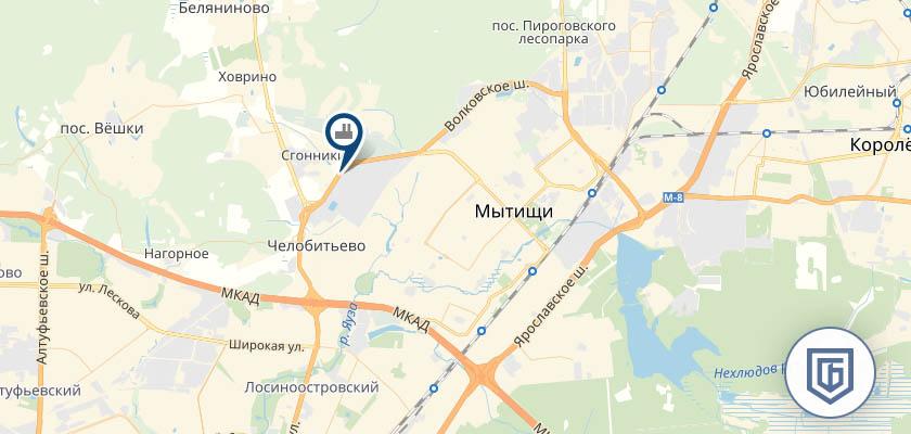 Бетонный завод в Мытищах