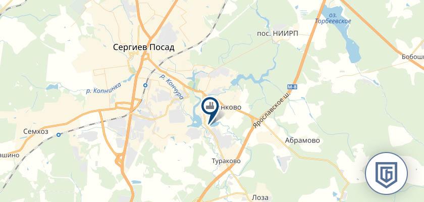Бетонный завод в Сергиевом Посаде
