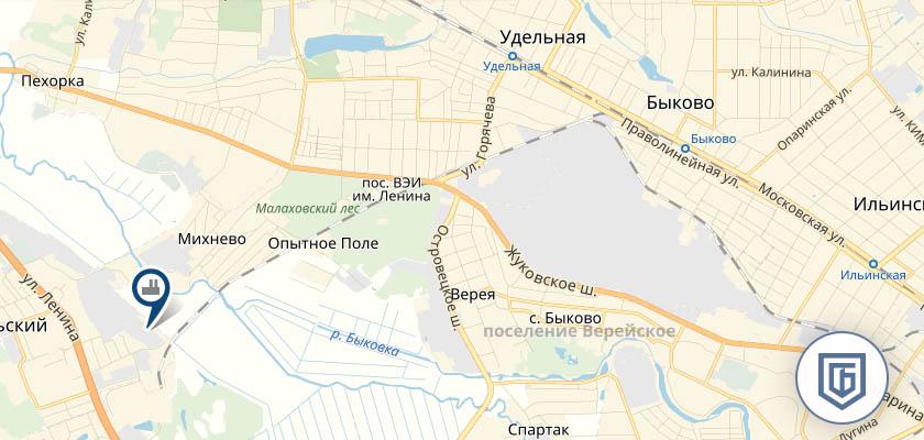 Бетонный завод в Удельной