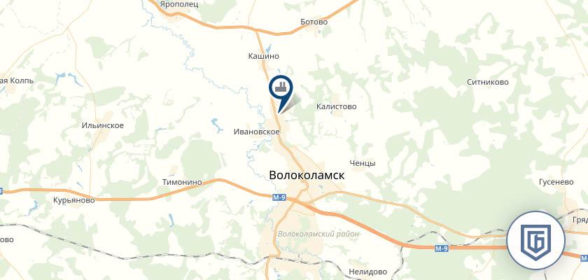 Бетонный завод в Волокаламске