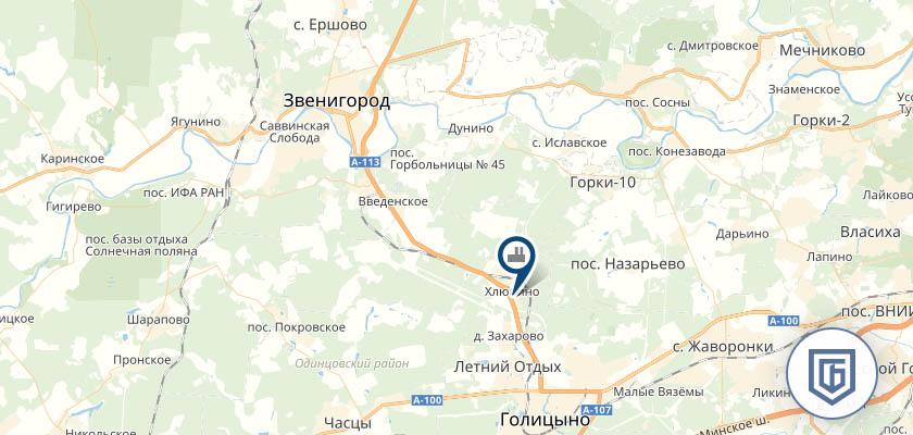 Бетонный завод в Звенигороде