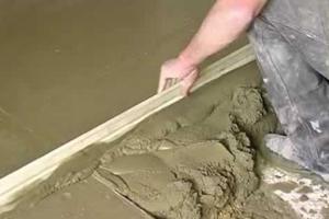 Готовый цементный раствор для стяжки пола с доставкой